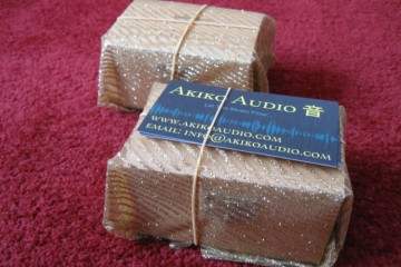Akiko Audio GEM1 Gold and E-Tuning Gold