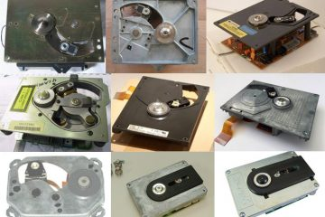The almost complete Philips CDM range of CD Mechanisms