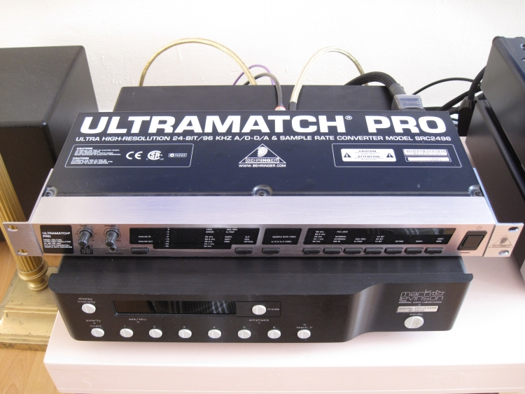 behringer ultramatch pro samplerate converter hfa the independent source for audio equipment. Black Bedroom Furniture Sets. Home Design Ideas