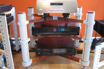 Marantz CD94 mkII (used as transport) and CEC TL-1x