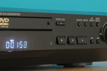 Panasonic DVD RV32 DVD Player – Mini Review