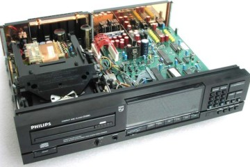 Philips CD player DAC chipset and transport list