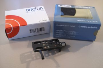 Audio Technica AT-HS10 and Ortofon LH 2000 Turntable Headshells