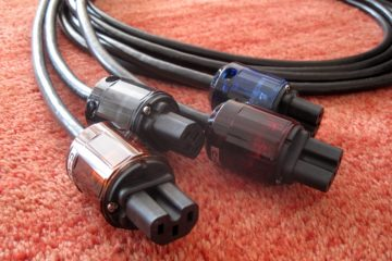 Oyaide C-037, C-046, C-079 and C-004 IEC Connectors