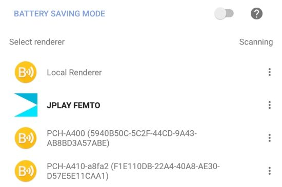 JPLAY FEMTO Music Server and Renderer software   HFA - The