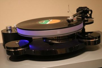 Origin Live Calypso mk4 with Multi-Layer Platter, Illustrious arm and Silver Hybrid cable