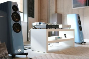 Goldmund Telos 7 with Kharma Elegance DB7 demo at PUUR audio, video & domotica