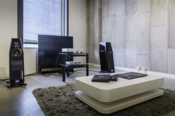 Goldmund Telos 7 with Kharma Elegance S7 Signature demo at PUUR audio, video & domotica