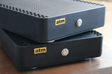 atm-audio EPM-700 class-D power amplifier with Korg Nutube triode input buffer