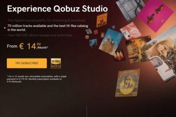 Qobuz Hi-Res On-Demand Streaming Audio